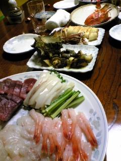 今日の晩餐