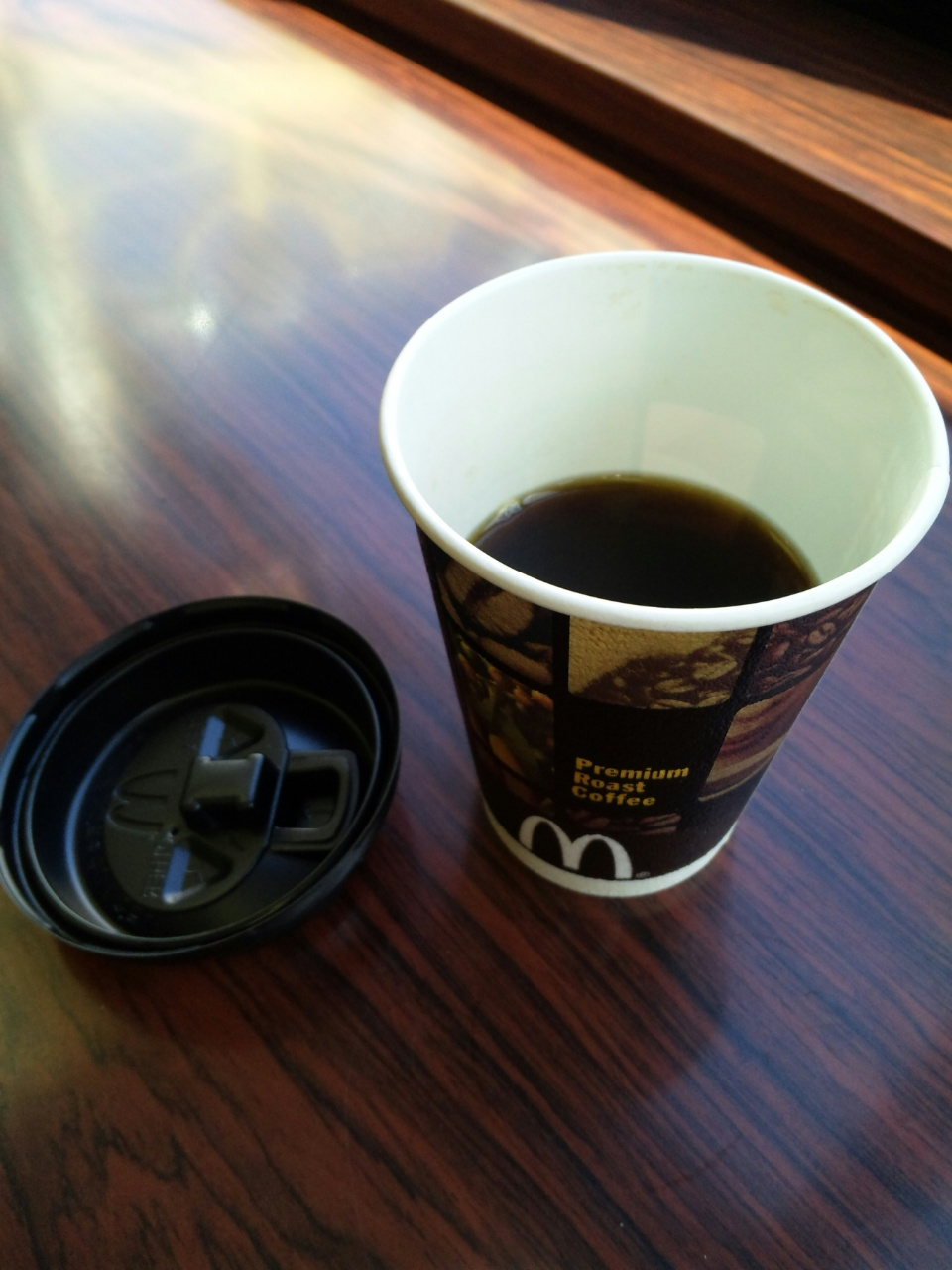 マックのコーヒー
